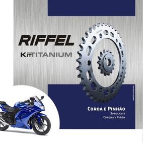 Coroa Pinhão Kawasaki Ninja 250r E Ninja 300 Riffel Titanium