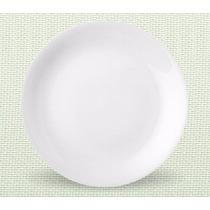 Kit 12 Pratos Rasos Coup Porcelana Branca Almoco 27cm R1199