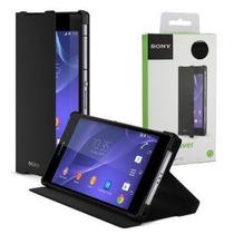 Funda Style Cover Stand Xperia Z5 Premium Original Sony