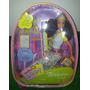 School Cool Teresa C/ Mochila Utiles Barbie Mattel Año 2000