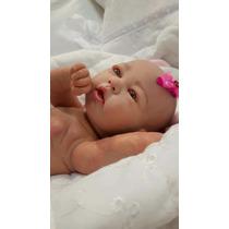 Boneca Bebe Reborn Corpo Inteiro Siliconado