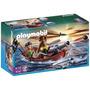 Playmobil Piratas Del Bote De Remos Con Tiburón Envío Gratis