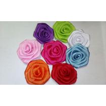 Hermosas Flores Rococó En Cinta Gro
