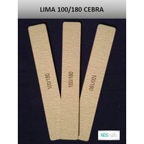 Lima 100/180 Cuadra Cebra Para Uñas