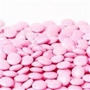 Lentejas De Chocolate Color Rosa Tipo Rocklets X1kg