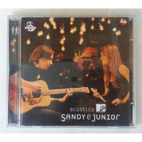 Cd Sandy & Júnior - Acústico Mtv - Imperdível