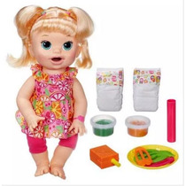 Baby Alive Comilona Loira Promoção Barata Pronta Entrega