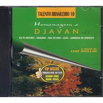 Cd O Piano De Luiz Avellar Homenagem A Djavan Vol 2