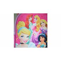 Mochila Niña Princesas Disney Resaltada,nueva Padrisima!!