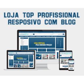 Loja Virtual Top Profissional Responsivo Com Blog 2016