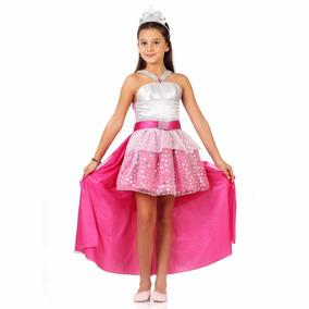 Fantasia Barbie Rock In Royals Luxo - Tam M - Sulamericana