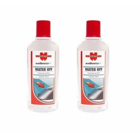 Kit 2 Water Off Wurth Cristalizador Para Brisas Vidro Água