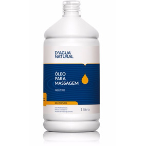 Oleo P Massagem Corporal Neutro 1l Dagua Natural