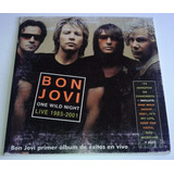 Bon Jovi One Wild Night Wanted Dead Or Alive Cd Promo Cardsl
