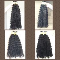 Cabelo Cacheado (permanente) 300 Gramas, 60/65 Cm, Mega Hair