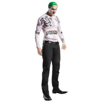 Disfraz Y Peluca Joker Suicide Squad Halloween Guason