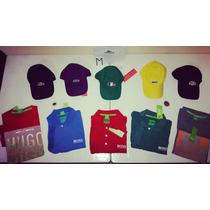 Gorras Lacoste Live & Camisetas Hugo Boss Originales!!