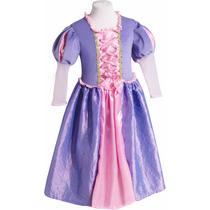 Disfraz Rapunzel Enredados Vestido Princesas Primera Calidad