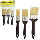 Kit 3 Unidades Trincha Pincel Pintura Parede 2\ 3,5 E 4,5 Cm