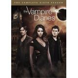 Dvd The Vampire Diaries Season 6 / Temporada 6