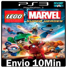 Lego Marvel Super Heroes - Legendado Pt-br Psn - Ps3 - Envio