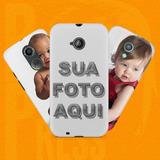 Capa Case Capinha Para Moto X2 Personalizada Com A Sua Foto