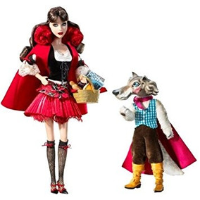 Juguete Caperucita Roja Y El Lobo Barbie Giftset