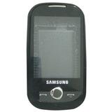 Carcaça Samsung Corby Gt-s3650 3 Partes Preta/black L041ns