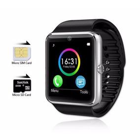 Smartwatch Modelo Gt08 2017 Android/ios Micro Sim/sd Camara