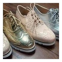 Zapatos Oxford Originales Tacon Bajo