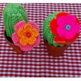 20 Cactus Tejidos Al Crochet - Souvenirs - Adorno
