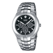 Reloj Casio Edifice Ef304 Acero Inoxidable100 Mts Fechador