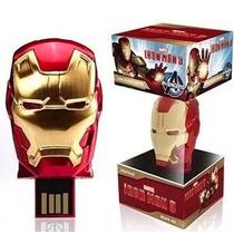 Memoria Usb 16gb Avengers Iron Man Hulk Thor Capitán América