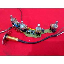 Kit Circuito Activo P/ Bajo Musicman 2 Bandas Con Booster
