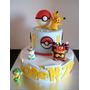 Tortas Decoradas Tematicas Pokemon Angry Birds Avengers