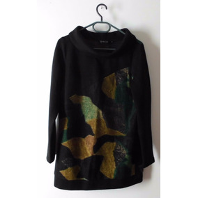 Sweater Larguito Ideal Calzas Abrigado Y Canchero M-l