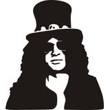 Stickers Slash Guns And Roses Heavy Metal Mde