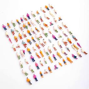 50 Figuras Bonecos Pessoas Ferreomodelismo Maquetes (1:100)