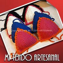 Corpiño Bikini Tejido Al Crochet Solo X Mayor