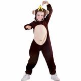 Fantasia Infantil Macaco Tam M Festa Cosplay Carnaval