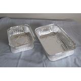 Envases Desechables De Aluminio Con Su Tapa