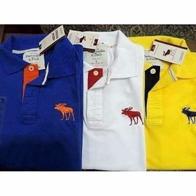 Camisas Gola Polo Masculina Kit 10 Peças Grifes Famosas Moda