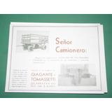 Publicidad Bahia Blanca Acoplados Giagante Y Tomassetti