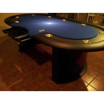 Mesa De Poker !! Bellagio !! Con Base Central Personalizada