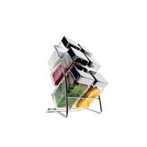 Conjunto De Porta Condimentos 6 Peças Square Ssg-6pcs - Euro