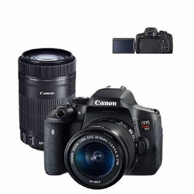 Camera Canon T6i Com Lente 18-55mm+55-250mm Premium
