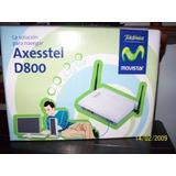 Linea Internet Ilimitado Cdma Moden Axestel D800