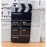 Cine Carcasa Diseño Claqueta Iphone 5 5s Se 10 Soles