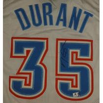 Jersey Autografiado Kevin Durant Oklahoma City Thunder Nba
