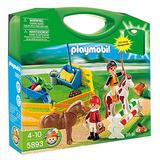 Playmobil 5893 Maleta Granja De Ponis Juguetería El Pehuén